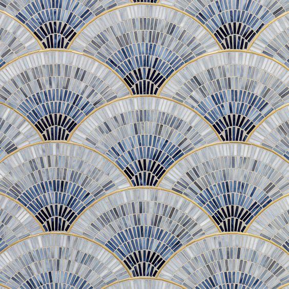 Mosaic Thủy Tinh Trang Trí